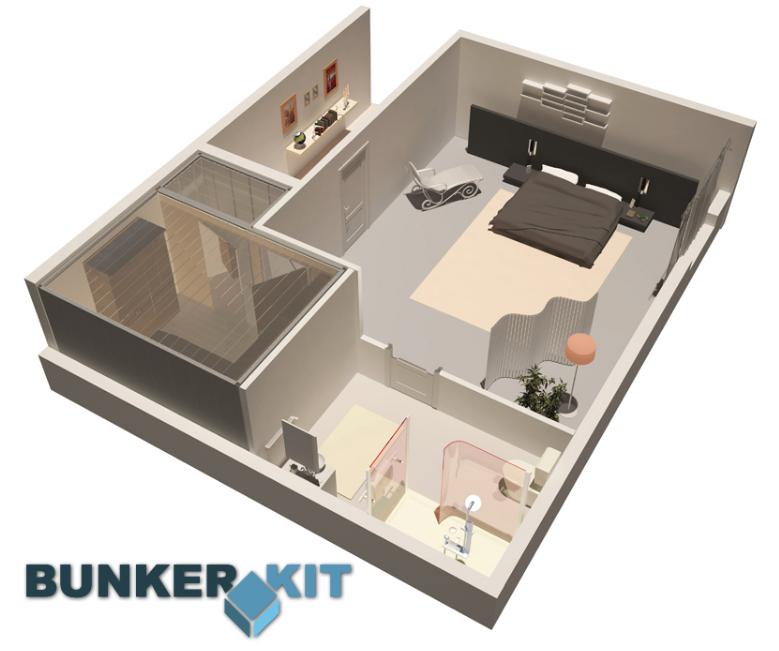 Panic room safe room solutions mavion for Building a panic room inside your house